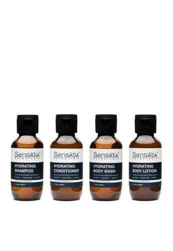 Sensatia Botanicals n/a Sensatia Botanicals Hydrating Travel Set - 4 x 50 ml 9BBC1BE7B38217GS_1