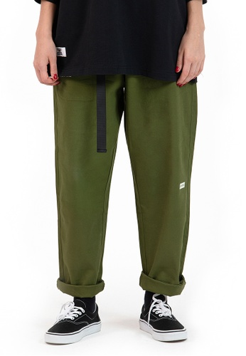 Reoparudo green IEEO IN SPACE @ RPD Luminous Prints Cargo Pants (Army Green) B5366AAB408A60GS_1