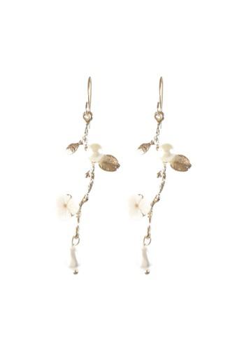 La Miina gold Melania Vintage Earrings 6396DAC4C6D840GS_1