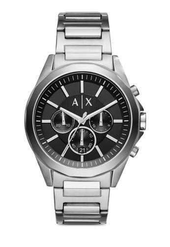 Emporio Armani silver Armani Exchange Drexler Silver Stainless Steel Watch AR024AC29ZQKMY_1