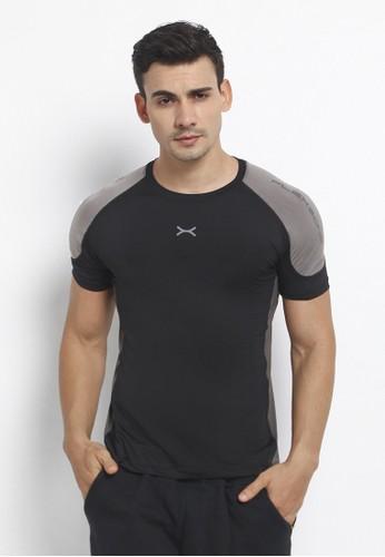Flexzone black FLEXZONE Muscle Tee Adamant Series Black 4DDF7AA0864CDAGS_1
