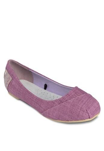 Kyoka 混色圓頭平底鞋,zalora是哪裡的牌子 女鞋, 芭蕾平底鞋