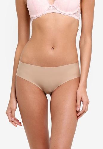 Undiz beige Microfibre Hipster Panties Pack 5C17DUS8E37BCAGS_1