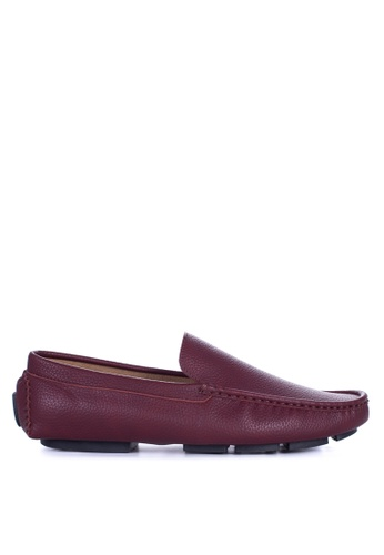 Mendrez red Jordan Loafers & Moccasins ME992SH69ZUOPH_1