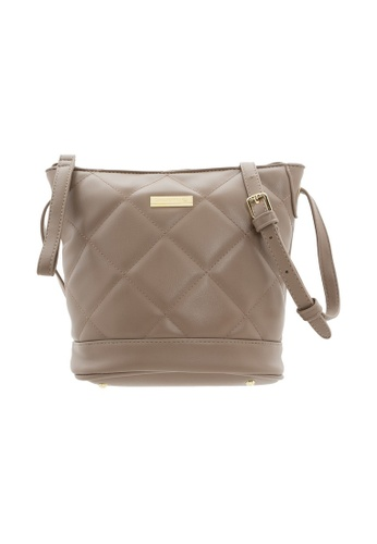 LancasterPolo beige Lancaster Polo Lizzy-Lined Bucket Bag 7E1BEACB672A2BGS_1