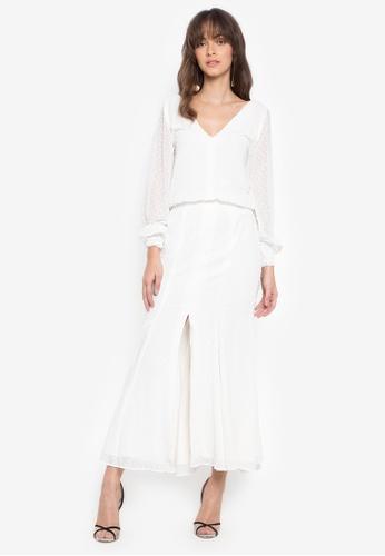 Fatima Beltran Clothing Line white White Long Dress AE51BAA4D2D326GS_1