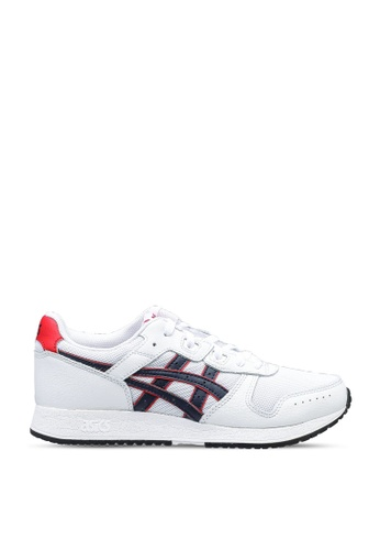Asics white Lyte Classic Shoes 6E0B7SHDEE8C82GS_1