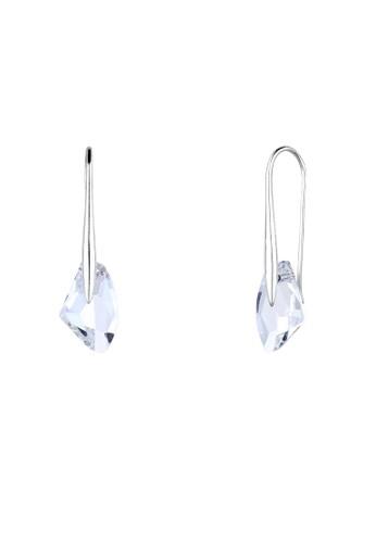 懸掛式施華洛世奇水晶球 9zalora 心得25 純銀耳環, 飾品配件, 其他