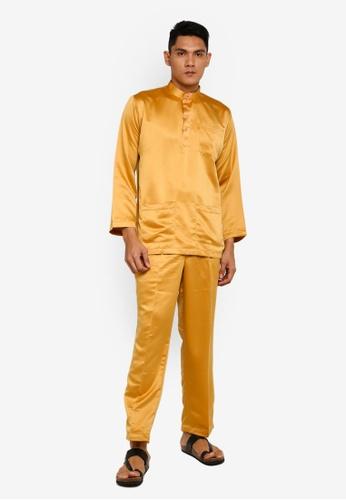 Gene Martino gold Tradisional Baju Melayu 2A3A7AADD63FEEGS_1