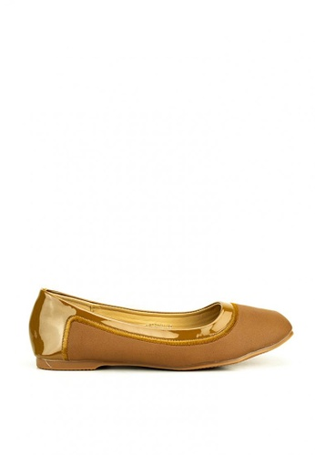 Mario D' boro Runway brown Adele Flat Shoes ADF49SH616906AGS_1