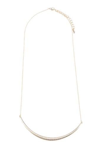 Keren 簡約牌飾項鍊, 飾esprit台灣網頁品配件, 飾品配件