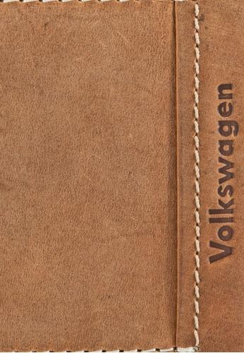 Volkswagen brown Volkswagen Genuine Leather Bi-Fold Wallet VO089AC01EJQMY_1