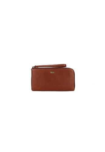 Picard brown Picard Breve Ladies Leather Zip Down Wallet PI517AC0HAY8SG_1