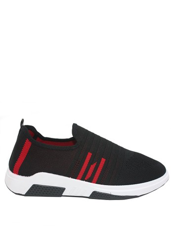 Dr. Kevin black and red Dr. Kevin Men Sneakers 13375 - Black/Red 74733SHAA265C7GS_1