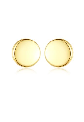 MATCH gold Luxurious Simple Design Earrings 0CDBFAC9AA7746GS_1