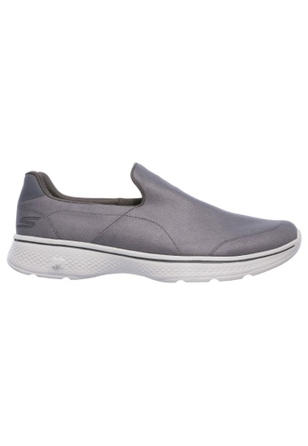 Skechers grey Skechers Men GOWALK 4 - 54154CHAR ACE45SH6FB3CFCGS_1