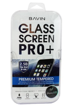 Bavin Tempered Glass Screen Protector for iPhone 5/5s