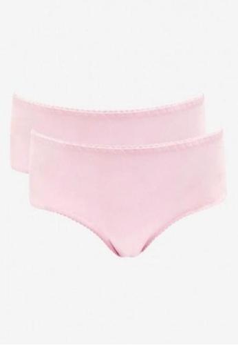 Mamaway pink Antibacterial and Odorless Maternity Midi Briefs 2 Pack BEFACUS8FB344CGS_1