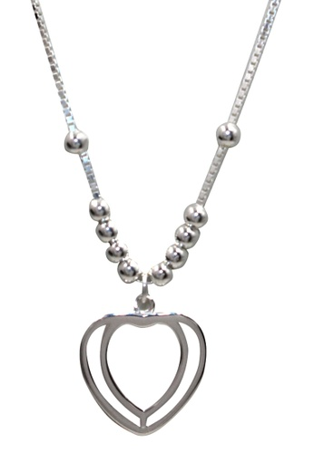 Venice Jewelry silver Ulla Necklace VE564AC99KMIPH_1