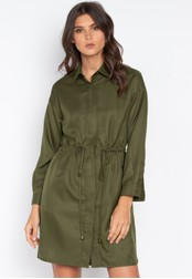 MEMO green Utilitarian Dress Jacket 5294FAA8851596GS_1