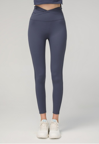 HAPPY FRIDAYS High Waist Nude Yoga Tights (No front crotch line) DSG668 6330FAA146552DGS_1