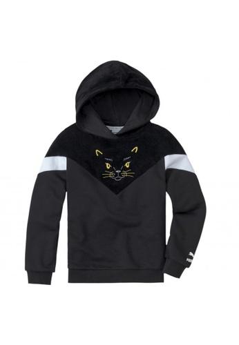 Puma black Animals MCS Kids' Hoodie 73E89KAF9BD768GS_1