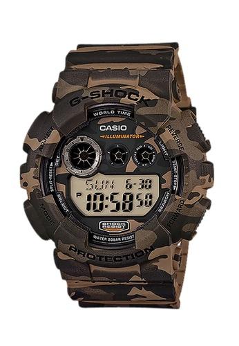 G-SHOCK brown CASIO G-SHOCK WATCH GD-120CM-5DR 47284ACBC1217EGS_1