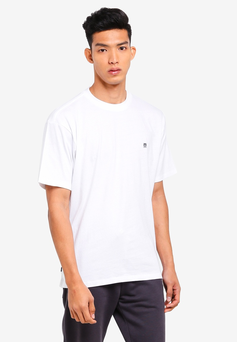 White Nine Box Short Sleeve Tee Eighty Solid OBEY 0qdwZZ
