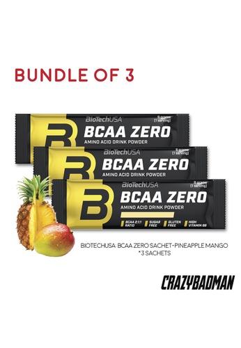 BioTechUSA [Bundle of 3] BCAA Zero 9g - Pineapple Mango 12DA1ESB631700GS_1