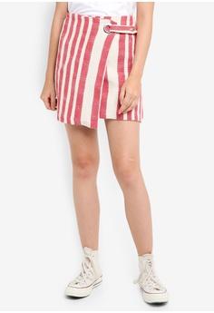 13d5764fe93e ... NOW RM 247.90 Sizes L · Free People red It S A Wrap Skirt  0665CAAB7FE231GS 1