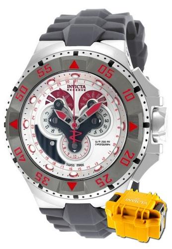 INVICTA red Invicta Excursion Men Swiss Quartz Chronograph 50mm Dress Watch 18561 w/ Impact Case 077D4AC5D884E4GS_1