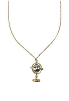 Globe Long Necklace