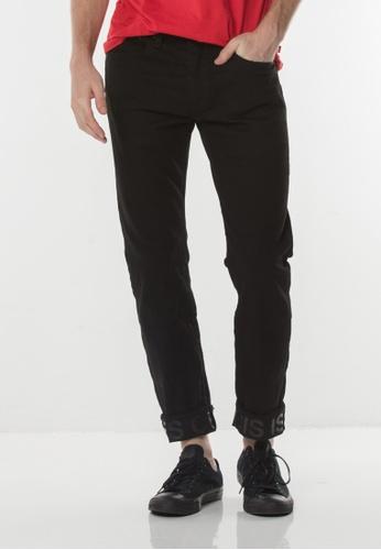 Levi's black Levi's 502 Regular Taper Fit Jeans (Black) F4799AA9E9557FGS_1
