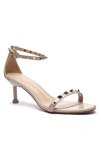 Twenty Eight Shoes Stud Patent Heels Sandals 365-3 AF230SHC0BCBD5GS_1