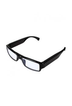 Eyeglass with HD Video Camera Pinhole - Black