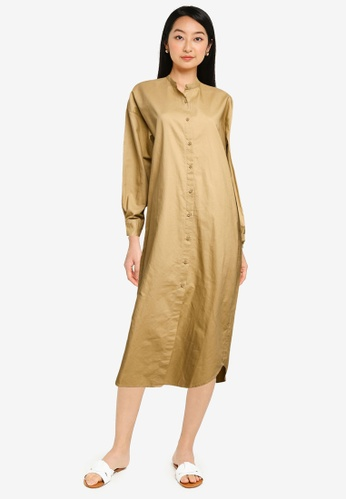 niko and ... beige Casual Dress B4C2EAA5DB40A8GS_1
