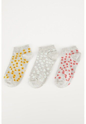 DeFacto multi 3-pack Low Cut Socks A7AD0AA10D5BC4GS_1