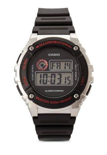Casio black Casio Men's Black Watch CA843AC34VIRMY_1