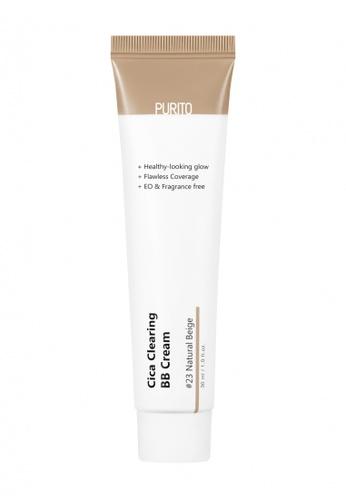 PURITO PURITO Cica Clearing BB Cream #23 Natural Beige F3DE7BE2371C4FGS_1