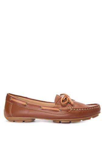 Sofab! brown JOLIE Ribbon Loafers SO013SH80TKXPH_1