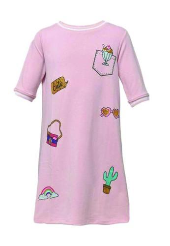 Cute pink Dress 83EAFKA4341892GS_1