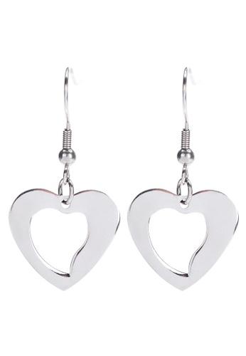EMO white Heart Drop Earrings BA7B3ACF44A4E7GS_1