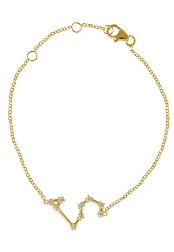 RAM Jewelry gold Constellation Bracelet - Yellow Gold - Leo B32F4ACA52DFCEGS_1