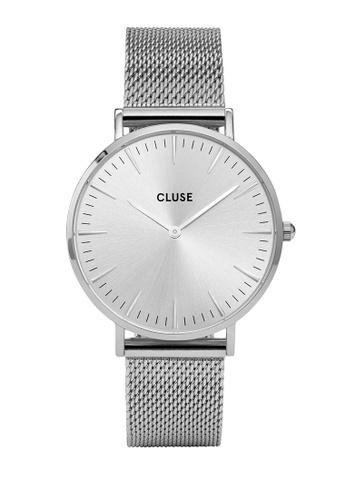 CLUSE silver La Boheme Mesh Full Silver CL977AC0SA2LMY_1