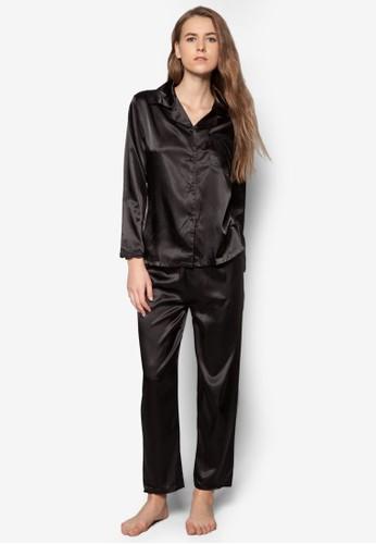 綢esprit 門市緞睡衣套裝, 服飾, 服飾