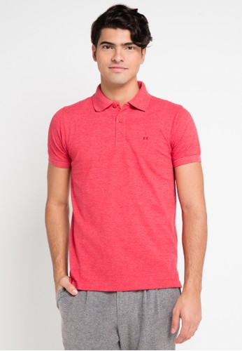 Hassenda red Short Sleeve HA130AA0VPF6ID_1