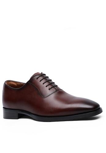 Twenty Eight Shoes 真皮復古德比鞋8710 DE0C2SH02031E3GS_1