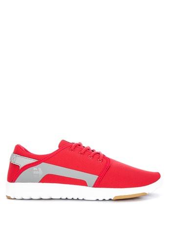 Etnies red Scout Sneakers 08FBBSH8AE193BGS_1