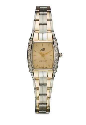 VW71-40京站 esprit0Y 閃鑽方框鍊錶, 錶類, 飾品配件