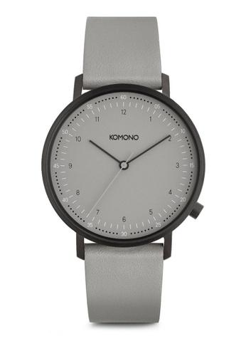 KOMONO grey Lewis - Cool Grey KO163AC0T0U6MY_1